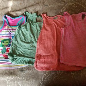 4 Pc. Girls Assorted Tank Tops